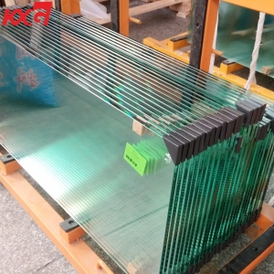 Export to Australian market 12mm clear tempered heat soak glass, 12mm clear toughened heat soak glass factory in China
