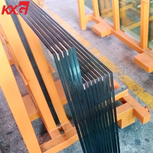 Good price 11.52mm heat soaked test tempered laminated safety glass, 554 heat soaked test toughened laminated glass factory