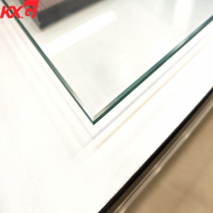 Guangdong 4mm clear tempered glass factory, factory price good quality 4mm flat hardened glass
