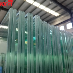 KXG 17.52mm tempered laminated glass wholesale, 884 low iron toughened laminated glass factory
