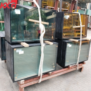Safety building window low e insulated tempered glass for sale custom toughened insulated glass panels manufacturer