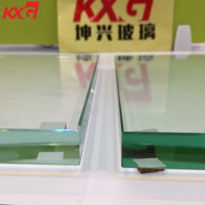 Tempered laminated glass and toughened glass for partition wall with CE certification