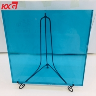 10.76mm color PVB toughened laminated glass building multicolor laminated glass supplier