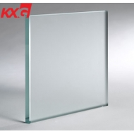 10mm acid etched frosted glass balustrade supplier safety railing glass factory in China