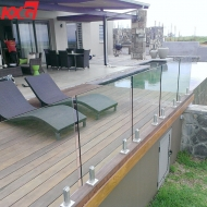 10mm tempered glass balustrade supplier china,10mm clear toughened glass railing factory,10mm tempered glass handrail factory price
