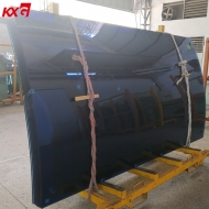 12mm Ford blue curved tempered glass, tinted safety bent tempered glass, toughened curved glass manufacturer