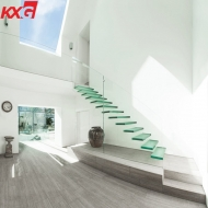 12mm toughened glass balustrade price 4+4mm laminated glass balustrade for balcony