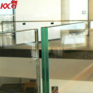 17.52mm clear tempered laminated glass for balustrade, 884 safety balustrade toughened laminated building glass factory in China