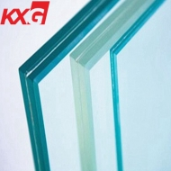 8.76mm ultra clear toughened laminated glass 442 low iron tempered laminated glass