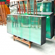 China Cheap good quality color reflective insulated glass, factory price color double glazing units factory