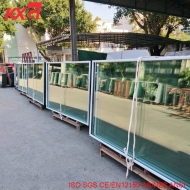 China 8mm Low E-12A-10mm Clear Full Tempered Insulated Double Glazing Glass Factory