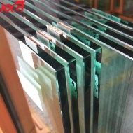 China building glass factory produce 12mm clear tempered heat soaked glass, 12mm clear toughened heat soaked glass