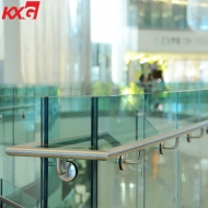 China building glass factory produce 13.52mm toughened laminated glass balustrade, 664 tempered laminated glass handrails