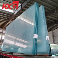 China building glass factory supply jumbo size 19mm low iron tempered glass, ultra clear tempered glass