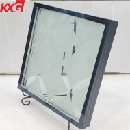 China factory high quality clear frosted triple insulating glazing units for door and windows