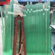 China factory safety tempered 17.52mm 21.52mm heat soaked toughened laminated safety glass