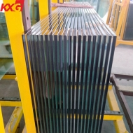 China factory wholesale price 12mm heat strengthened glass,12mm half toughened glass,12mm clear semi tempered glass