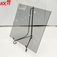 China good quality 8mm euro gray tinted tempered glass supplier 8mm euro gray color toughened glass factory