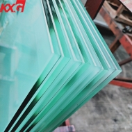 China China manufacturer frosted toughened glass, CE certification factory price acid etched tempered glass factory
