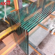 China professional Half tempered toughened glass factory, heat strengthened building glass factory