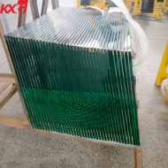 China Cut to size clear 12mm tempered glass ,CE Certificate 12mm Clear Toughened Glass Factory factory