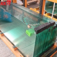 China Export to Australian market 12mm clear tempered heat soak glass, 12mm clear toughened heat soak glass factory in China factory