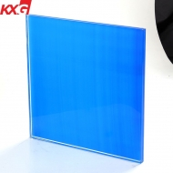 China Factory price tempered tinted laminated glass, toughened lamiated glass with color pvb film factory