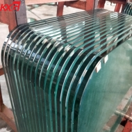 Good price1/2 inch table top glass factory,  12mm tempered glass table top fabricators in China