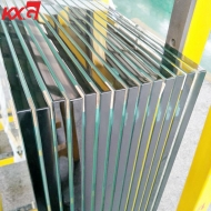 Good quality 12mm clear toughened tempered heat soaked glass,  China professional heat soaked glass factory