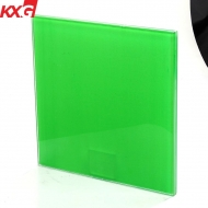 China KXG Good quality color PVB tempered laminated safety glass factory