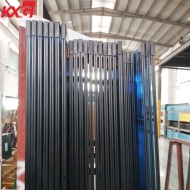 China KXG building glass factory supply 6mm blue tinted tempered glass+0.76mm clear PVB+6mm blue colour tempered laminated glass, 662 blue tinted tempered laminated glass factory