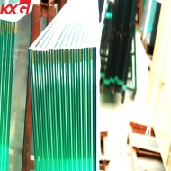 China KXG excellent 12.38mm annealed laminated safety glass, 661 laminated float glass factory
