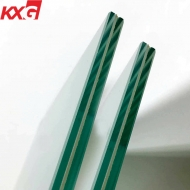 China Laminated Security Glazing Heat Soaked Test Toughened Laminated Glass Supplier factory