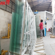 Safety tempered glass 10mm 12mm heat soaked toughened glass manufacturer China